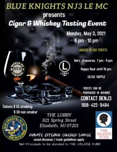 Cigar & Whiskey Tasting Charity Event** @ THE LOBBY