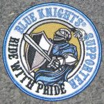 Ride with Pride Patch