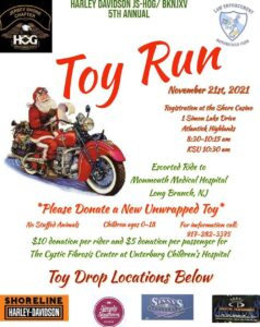 5th Annual BK-NJ-XV Toy Run - In Association with Jersey Shore Chapter - HOG @ Shore Casino